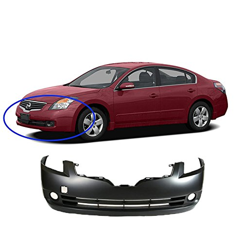 MBI AUTO - Primered, Front Bumper Cover 2007 2008 2009 Nissan Altima Sedan, NI1000240 (2009 Nissan Altima Bumper Cover compare prices)
