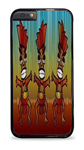 Aztec Dancers Black 2-in-1 Protective Case for iPhone 6 (4.7)
