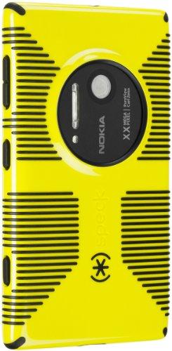 Caso de agarre Mota productos dulces Shell para Nokia Lumia 1020 - empaquetado por menor - radiactivo amarillo/negro