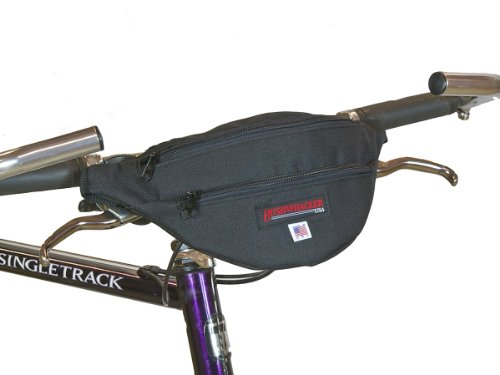 Bushwhacker Newport - Handlebar bag / Hip Pack Black
