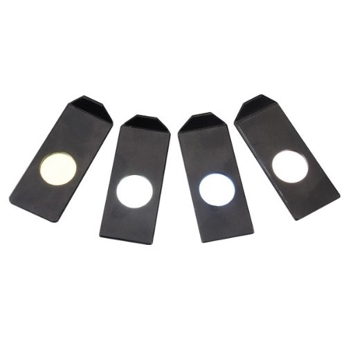 Amscope Cf-4 Color Filters For Fiber Optic Microscope Illuminators
