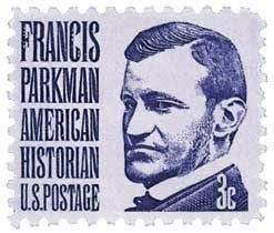 #1281 - 1967 3c Francis Parkman Postage Stamp Numbered Plate Block (4)