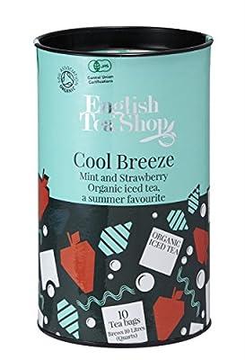 """English Tea Shop - Eistee """"Cool Breeze"""" Minze & Erdbeer, BIO, Dose, 10 Teebeutel (für je 1 Liter) von English Tea Shop bei Gewürze Shop"""