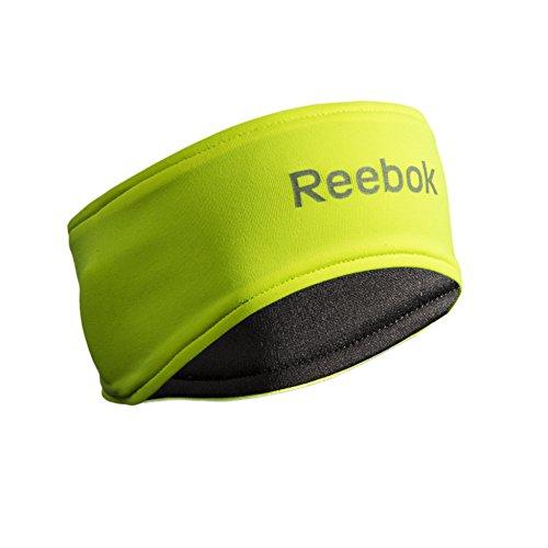 reebok-logo-stirnband-reflektierend-schwarz-gelb