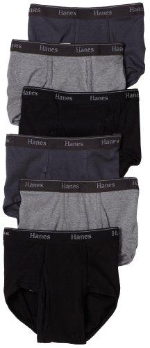 Hanes Men's Classics Full-Cut Brief (Pack of 6)