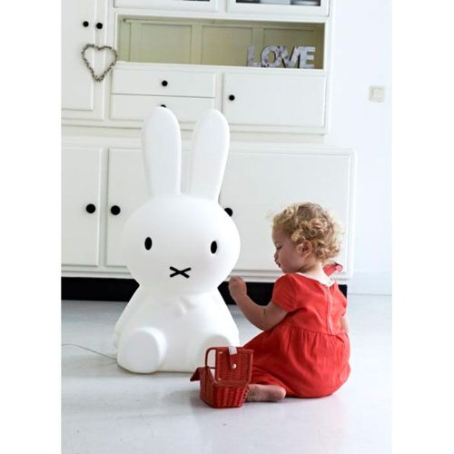 Anel Lamp 80 cm Miffy weiß / silber