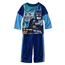 Boys' Sleepwear Batman Lego® Black 2 pc Pajama Set 4