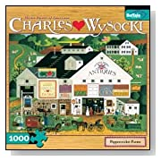 1000 Piece Charles Wysocki Peppercricket Farms Jigsaw Puzzle