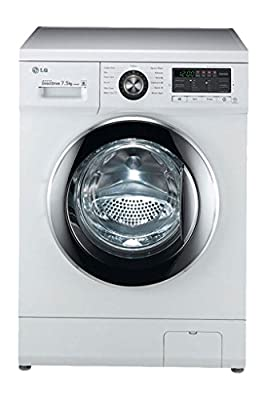 LG FH296EDL23 Fully-automatic Front-loading Washing Machine (7.5 Kg, Blue White)