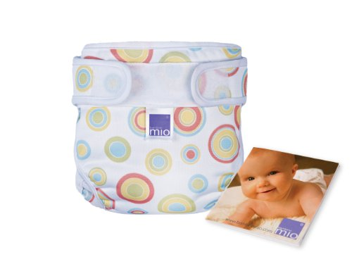 Bambino Mio Miosoft Cloth Diaper Starter Kit - Hook & Loop - Print - Newborn back-372793