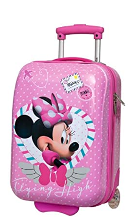 Disney Genuine Childrens Kids Girls Bags and Luggage (Minnie Mouse Travel 48x30x20cm)