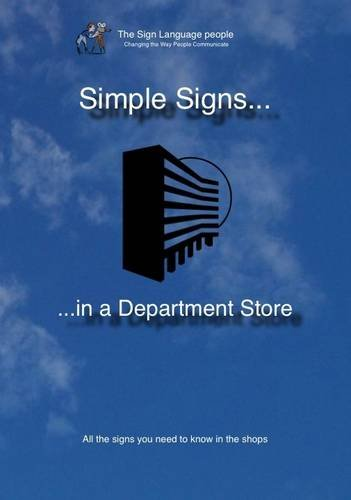Simple Signs in a Department Store: All the Signs You Need to Know in the Shops [DVD]