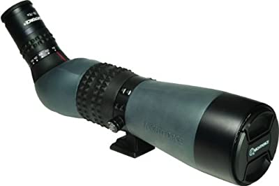 NightForce TS-82 20-70x Xtreme Hi-Definition Spotting Scope, Dark Grey, Angled Body from Nightforce Riflescopes