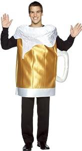Rasta Imposta Unisex Beer Mug Adult Costume from Rasta Imposta