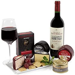 Red Bordeaux, Pate and Cheese Gift Box
