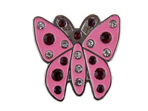 Pink Butterfly-Marker per palline da Golf dal Mercia