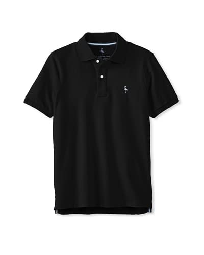 TailorByrd Men's Short Sleeve Two Button Polo