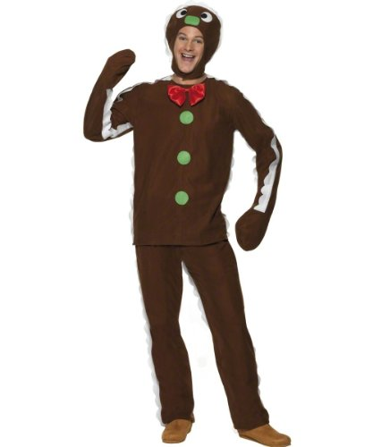 Smiffy's Gingerbread Man Costume Large