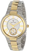 Philip Stein Unisex 42TG-CWG-SSTG Two-Tone Stainless Steel Watch