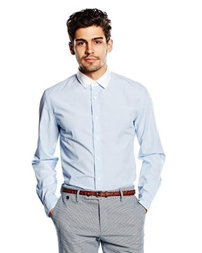 Dockers Camisa Hombre Alpha Holiday Azul