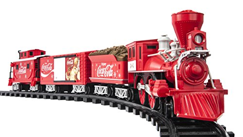 Lionel Trains Coca-Cola Holiday G-Gauge Train Set JungleDealsBlog.com