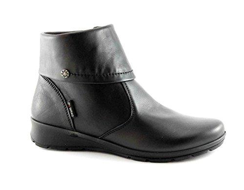 ENVAL SOFT 68700 nero scarpe donna stivaletti tronchetti zip 40