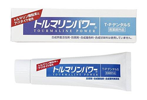 トルマリンパワー T・PデンタルS 薬用歯みがき 100g
