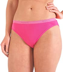 Fruit of the Loom 10pk Cotton Assorted Bikini
