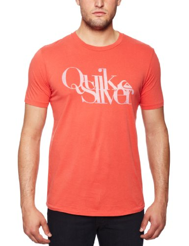 Quiksilver Shortsleeve Thruster Quiksticks Printed Men's T-Shirt Strawberry XX Large