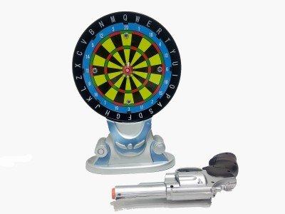 Karma Electronic Gun With Shoot Board Laser & Music Soft Tip Dart