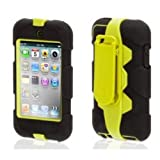 Griffin GB03682 Survivor Military-Duty Case for iPod Touch 4G - Citron/Black
