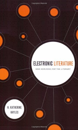 Electronic Literature: New Horizons for the Literary...