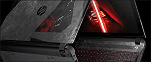"HP - Star Wars Special Edition 15.6"" 3D-Capable Laptop - Intel Core i7 - 8GB Memory - 1TB Hard Drive - Darkside Black from hp"