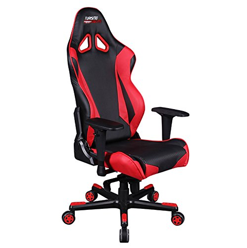 Turismo Racing Ancona Series Gaming Chair Black And Red Ergonomic Gaming Buck