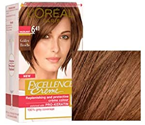 L'Oreal Excellence Creme Hair Colour 6.41 Natural Hazelnut