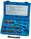 Quick Change Ratcheting Terminal Crimping Kit, 9 Die Sets