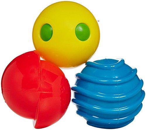 Edushape 705393 Fun Z Balls Baby Toy