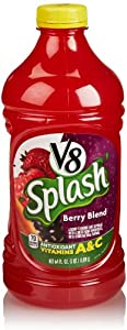 V8 Splash Juice, Berry Blend, 64 Fl Oz