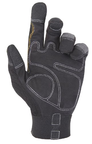 Custom Leathercraft 125L Handyman Flex Grip Work Gloves, Large