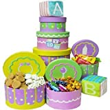 Congratulations Baby! Snacks & Treats Gift Tower, Neutral Boy or Girl