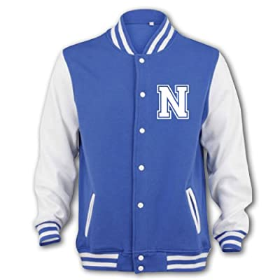 Bang Tidy Clothing Unisex-Adult Niall Horan Fan Jacket Small Blue