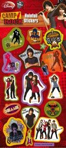 Camp Rock - Foil Sticker Pack - Sticker Style