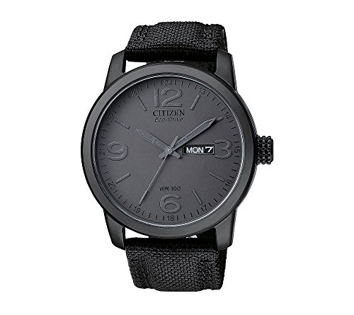 Citizen-Mens-Eco-Drive-Black-Ion-Plated-Watch
