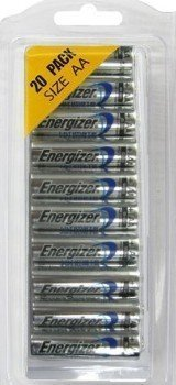 Energizer Ultimate Lithium AA Size Batteries - 20 Pack (Energizer Battery Aa compare prices)