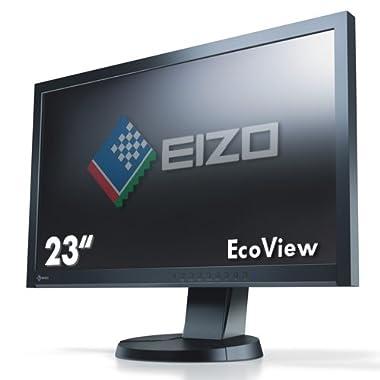 ナナオ <FlexScan> 23.0インチIPSモニタ 1920x1080 DVI-D24ピンx1 D-Sub15ピンx1 DisplayPortx1 ブラック EV2335W-BK