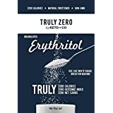 Truly Zero Erythritol Sweetener - 1 lb - All Natural Non GMO Zero Calorie Zero Glycemic Index Zero Net Carbohydrate Sugar Alternative (Tamaño: 1 Lb)