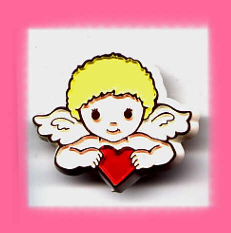 Hallmark Valentine's Day Cupid Lapel Pin