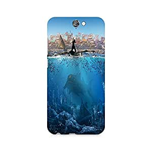 MOBICTURE Pattern Premium Designer Mobile Back Case Cover For HTC One A9