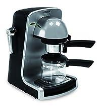 IMUSA USA GAU-18201 Bistro 4 Cup Espresso & Cappuccino Maker, Silver