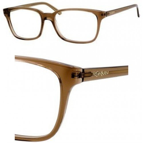 Yves Saint Laurent Eyeglasses Yves Saint Laurent 2358 0BKC Transparent Brown